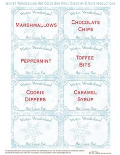 Hot Cocoa Party - Party Contributor - Organize and Decorate Everything