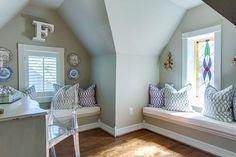 Guest room design by Emily Johnston Larkin of EJ Interiors