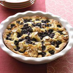 Warm Almond-Cherry Cake Recipe