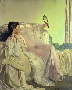 ~ William Orpen ~ Irish artist, 1878-1931: The Eastern Gown