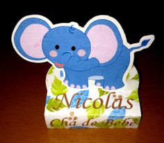 Caixa Bis Duplo - Safari - Elefante