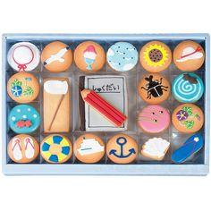 夏の絵日記アイシングクッキー