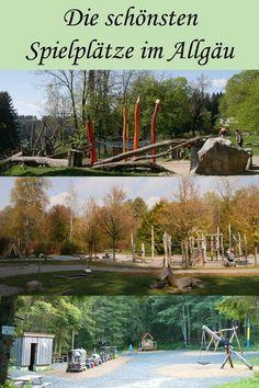Die schönsten Spielplätze im Allgäu Camping Places, Camping Lights, Activities For Kids, World, Outdoor, Big Sur, Travelling, Low Carb, Sport