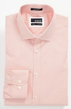 1901 Slim Fit Dress Shirt available at Slim Fit Dress Shirts, Shirt Dress, Clothing Labels, Menswear, Nordstrom, Mens Fashion, My Style, Fitness, Casual