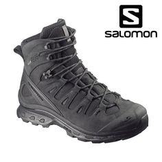 The Salomon L37347800 Quest 4D GTX Forces Boot from Down Range Tactical Outfitters are excellent Mountaineering Boots featuring a Gore-Tex® membrane and a stable 4D chassis. The QUEST 4D GTX FORCES gives you the required support and grip of a mountain boot but still has the flexibility allowing you to take a knee or sprint to the target in tough conditions. WEIGHT: • 650 g   22,93 oz (SIZE UK 8.5) UPPER: • Anti-debris mesh • Textile • Nubuck leather • Stealth design & printings •…