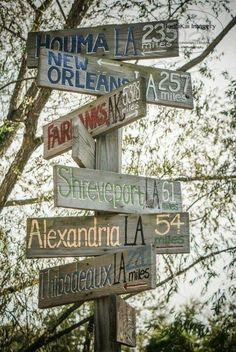 Louisiana street sign