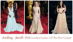 It's a red carpet recap of the top three best dresses from the Academy Awards. Did your favourites make the list?