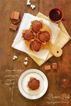 Muffinki z Prince Polo | Pieczarka MySia - słodkie przepisy kulinarne