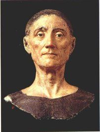 Death mask (Bust of funeral effigy) of King Henry VII - King Henry VIII's father