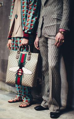 Gucci - fall 2016 - bag - brown and green - inspiration - outfit - street style - l'Etoile luxury vintage