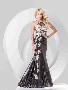 Wishesbridal Criss Cross Prom Evening Dress