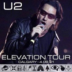 On this day in 2001, U2 played the Pengrowth Saddledome in Calgary, Alberta, Canada.  Audio, recap, setlist, and links: http://u2.fanrecord.com/post/115996179999/one-with-a-little-bit-of-the-ocean-on-this