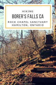 Hiking Bruce Trail t