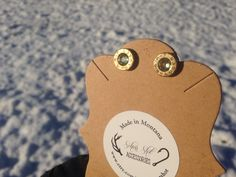 9 mm Snow Angel Earrings