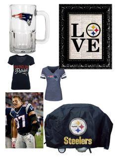 """""""Football kick off : lets goo New England"""" by danillove14 on Polyvore featuring art"""