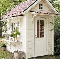 Front door, no Windows. She shed plans. Front door, no Windows. She shed plans. Diy Shed Plans, Storage Shed Plans, Small Shed Plans, Outdoor Storage Sheds, Outdoor Sheds, Shed Conversion Ideas, Shed Decor, Small Sheds, Backyard Sheds