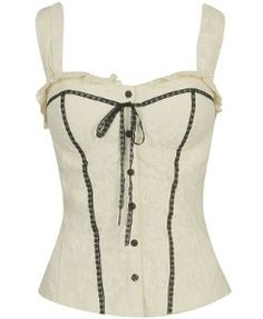 d3ef28cb93e Lace Overlay Corset Top and other apparel