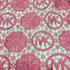 This african lace fabric look stunning! very good!