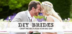 Craft projects for DIY brides - http://www.weddingvenues.com/news/diy-projects-for-brides-to-be-16052