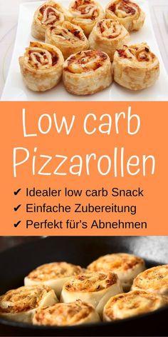 Diese low carb Pizzarollen sind auf alle Fälle einen Versuch wert!