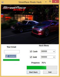 Streetrace Rivals Hack Tool   Streetrace Rivals Hack Tool  We present youStreetrace Rivals Hack Tool. After days of coding and testing our team is ready to present you an amazing trainer forStreetrace Rivalsgame. This cheat can generate unlimited amountCashandGold.You have to follow some simple steps.Moreover this trainer is safe (Guard Protection Script) undetectable and clean (scanned byVirusTotal)  Streetrace Rivals Hack ToolFeatures:  Cash and Gold GeneratorProxy support100% Safe Guard…