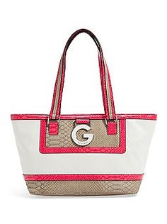 G by Guess Fedora Tote