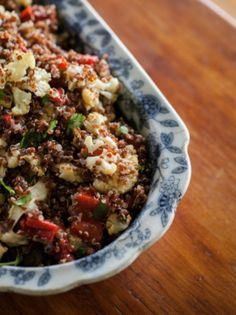 Passover Recipe: Roasted Cauliflower and Quinoa Salad with Toasted Nuts | Gourmet Passover Cooking