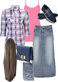 """pink and navy blue"" by taralei1997 ❤ liked on Polyvore"