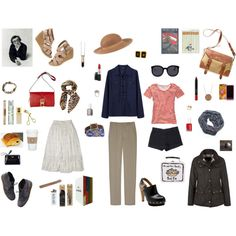 Capsule Wardrobe: Summer 2014 road-trip along the coast of Maine, USA.