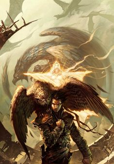"""Raymond Swanland Art; Cover of """"Ardneh's Sword"""" by Fred Saberhagen"""