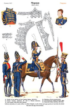 SOLDIERS- Rousselot: NAP- France: French Marin 1803- 1815 (pl 32) 2, by Lucien Rousselot .