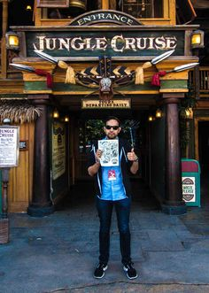 …and get a Jungle Cruise map.