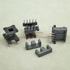 20sets/lot EE16 PC40 Ferrite Magnetic Core and 5 Pins + 5 Pins Top Entry Plastic Bobbin Customize Voltage Transformer #jewelry, #women, #men, #hats, #watches, #belts, #fashion