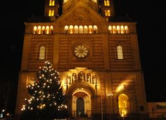 Dom zu Speyer - weihnachtlich beleuchtet