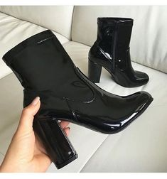 55 Aesthetic Shoes To Wear Asap Shoes Source by juliedwalters Shoes Sock Shoes, Cute Shoes, Me Too Shoes, Shoe Boots, Guess Shoes, Ugly Shoes, Black Ankle Boots, Black Heels, Heeled Boots