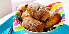 Aamulla leivottavat sämpyläpalat No Salt Recipes, Ciabatta, 20 Min, Cornbread, French Toast, Muffin, Breakfast, Ethnic Recipes, Muffins