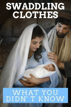 What You Didn't Know About Baby Jesus' Swaddling Clothes God and Jesus Christ Bible Topics, Bible Resources, Christmas Quotes, A Christmas Story, Christmas Ideas, Lds Scriptures, Jesus Calling, Sunday School Lessons, Scripture Study