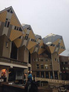 Kubus huise in Rotterdam