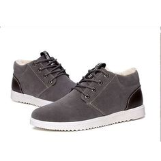 cf6a95f6856 Men s Winter Plush-Lined Suede Leather Warm Winter Shoes 3 Colors