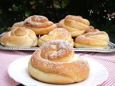 Ensaimadas, Spanyol briós Pretzel Bites, Bagel, Doughnut, Nutella, Hamburger, Sweet Treats, Pizza, Bread, Food