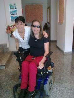 Io e Barbara del Memory Hotel a Rimini Centro