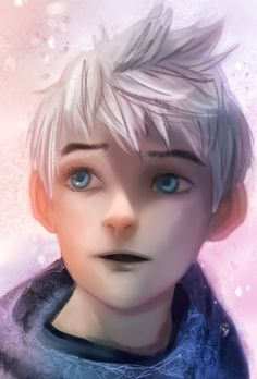 This is GORGEOUS. He's so pretty, and this is so wonderfully done and aaahHHHHHHHH I LOVE MY JACK FROST!!!