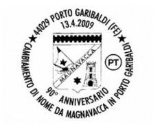 PORTO GARIBALDI anni \'50 Bar Ristorante Bagno ROMA   Magnavacca ora ...