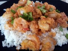 """Bonefish+Grill's+Bang+Bang+Shrimp!+4.86+stars,+28+reviews.+""""This+was+gone+almost+immediately.+My+husband+and+daughter+loved+it+so+much,+this+will+definitely+be+a+regular+in+our+house.+So+yummy!""""+@allthecooks+#recipe+#shrimp+#seafood+#spicy+#easy+#hot"""