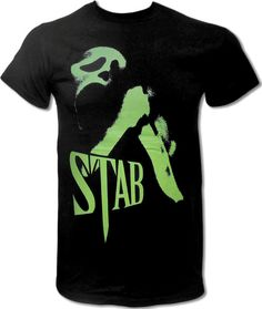 Stab T Shirt (Wes Craven's Scream) Horror Movie T Shirt (Director of Freddy Krueger, Nightmare on Elm Street) - Graphic Tees For Men & Women on Etsy, $15.99