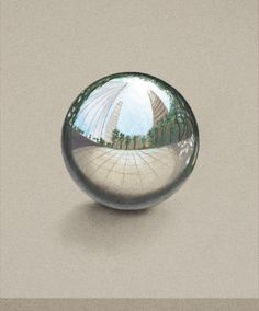 How To Draw A Chrome Sphere