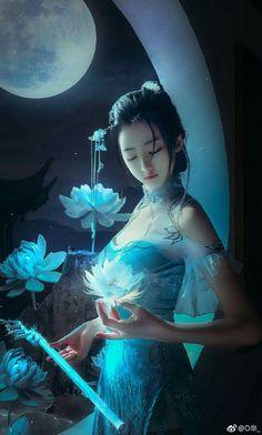 Not my art fantasy missy art fantasy geisha missy Fantasy Girl, Fantasy Women, Anime Fantasy, Beautiful Fantasy Art, Beautiful Anime Girl, Fantasy Artwork, China Art, Art Graphique, Anime Art Girl
