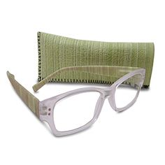 Green 1.75 Magnification Reading Glasses