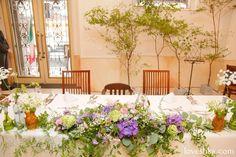 real wedding / 実際のプロデュース / メインテーブル / tree / ウェディング / 結婚式 / wedding / オリジナルウェディング / プティラブーシュカ / トキメクウェディング