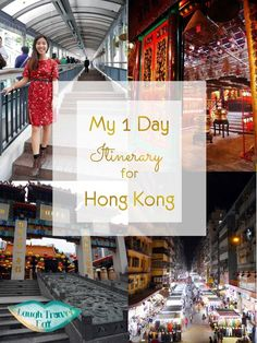 If your cruise ship stops at Hong Kong, use this 1-day itinerary to create an independent cruise excursion: There's no doubt that Hong Kong is full of a million things to see and do. But what if you are short of time? Well - here's my 1 day itinerary for Hong Kong full of my favorite spots!